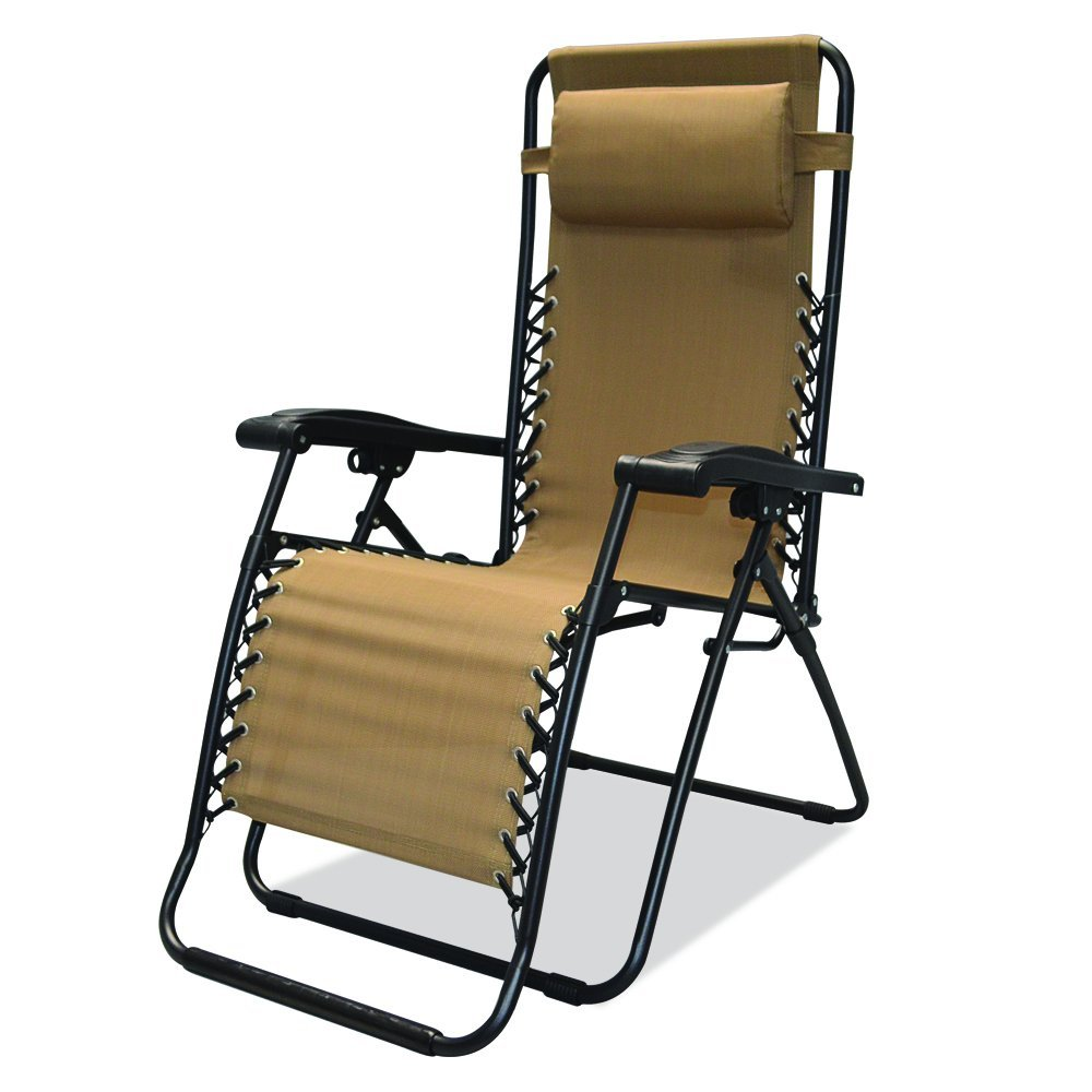 Review of caravan sports infinity zero gravity chair for Chair zero gravity