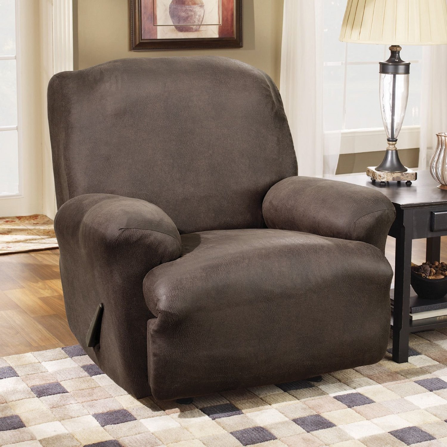 A Review On Sure Fit Stretch Leather Recliner Slipcover