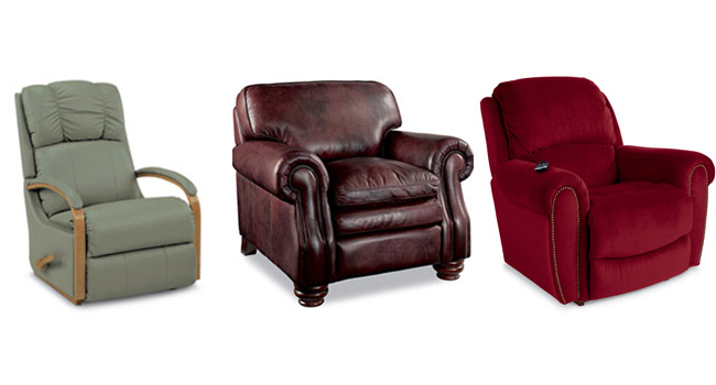 different types of recliners that you could purchase