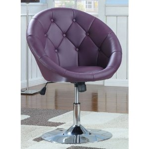 Coaster Round-Back Swivel Chair for Living Room Review