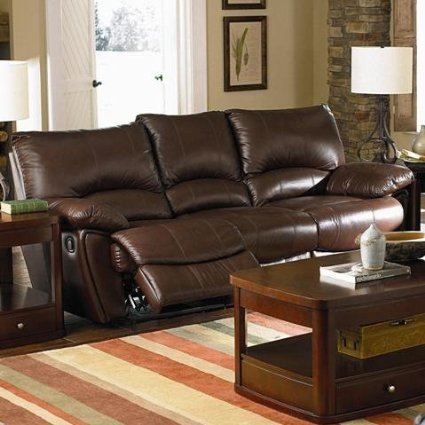 Clifford Collection Brown Leather 3PC Recliner Review