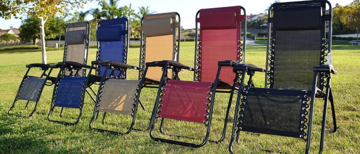 Caravan Canopy Zero Gravity Chair colors