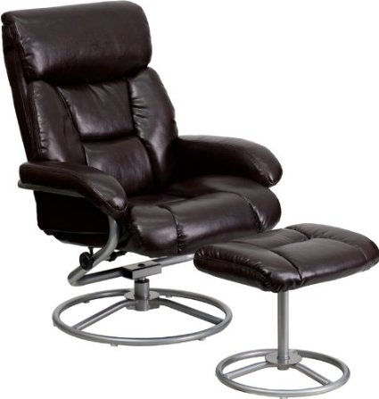 Flash Furniture Contemporary Leather Recliner