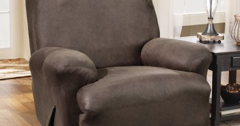 Sure Fit Stretch Leather Recliner Slipcover Review