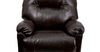 Flash Furniture Contemporary Bentley Brown Leather Chaise Power Recliner Review