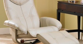 Soft Touch Vanilla Swivel Recliner and Slanted Ottoman Review
