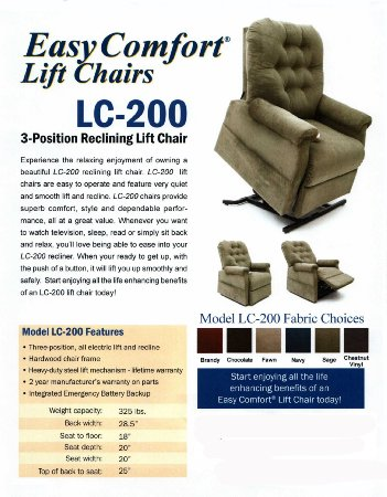 Easy-Comfort-Lift-ChairEasy-Comfort-Recliner-LC-200-3-Position-Rising-Electric-Power-Chaise-Lounger-View6
