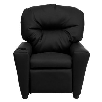Flash-Furniture-BT-7950-KID-BK-LEA-GG-Contemporary-Black-Leather-Kids-Recliner-With-Cup-Holder-View5