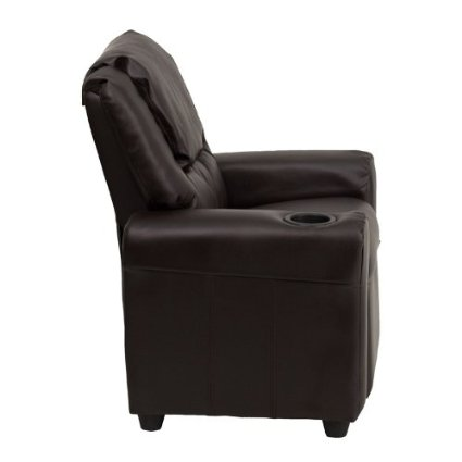 Flash-Furniture-DG-ULT-KID-BRN-GG-Contemporary-Brown-Vinyl-Kids-Recliner-With-Cup-Holder-And-Headrest-View2
