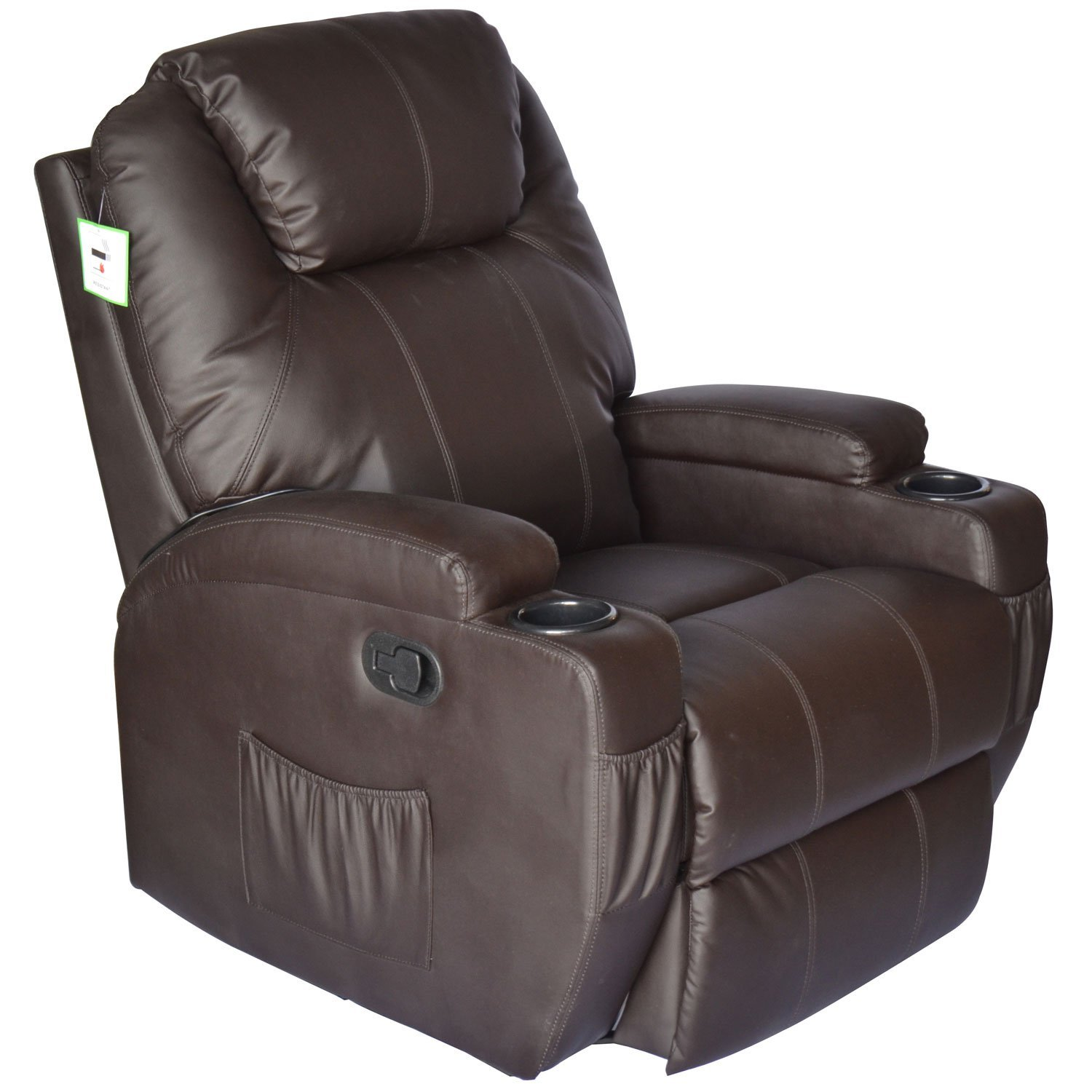 HomCom-Deluxe-Heated-Vibrating-PU-Leather-Massage-Recliner-Chair-View3