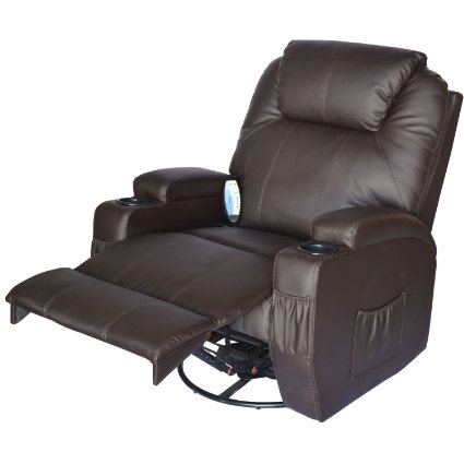 HomCom-Deluxe-Heated-Vibrating-PU-Leather-Massage-Recliner-Chair-View5