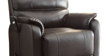 Homelegance-8545-1LT-Power-Lift-Recliner-Chair,-Dark-Brown-Bonded-Leather-View1