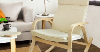 SoBuy-Comfortable-Relax-Rocking-Chair,-Lounge-Chair-With-Cotton-Fabric-Cushion,-FST15-W-View4