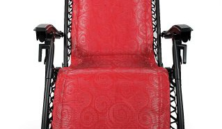 Camco-51823-Zero-Gravity-Padded-Recliner-(Red Swirl Pattern)-View5