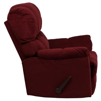 Flash-Furniture-AM-9320-4170-GG-Contemporary-Top-Hat-Berry-Microfiber-Rocker-Recliner-View1