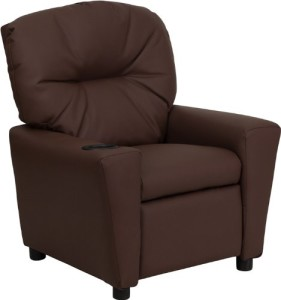 Flash Furniture BT-7950-KID Leather Recliner