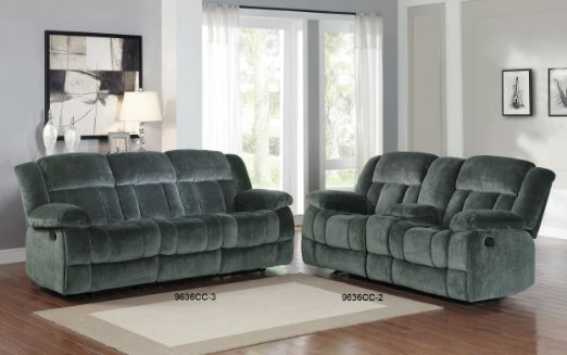 Homelegance-9636CC-1-Laurelton-Textured-Plush-Microfiber-Glider-Recliner-Chair,-Gray-View3