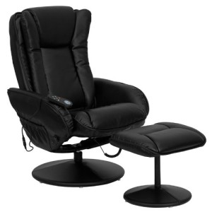 T & D Enterprises BT-7672 Massaging Leather Recliner