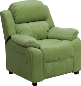 Deluxe Contemporary Kids Recliner by Flash Furniture
