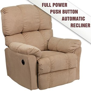 Flash Furniture AM-9320-4172-GG Contemporary Rocker Recliner