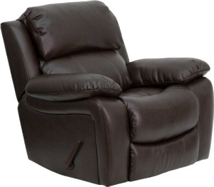Flash Furniture MEN-DA3439-91 Leather Rocker Recliner  sc 1 th 210 : most comfortable recliner chairs - islam-shia.org