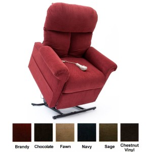 Mega Motion LC-100 Infinite Position Heat and Massaging Lift Recliner