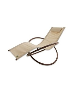 RST Brands OP-OL04-Bei Original Zero Gravity Patio Lounger
