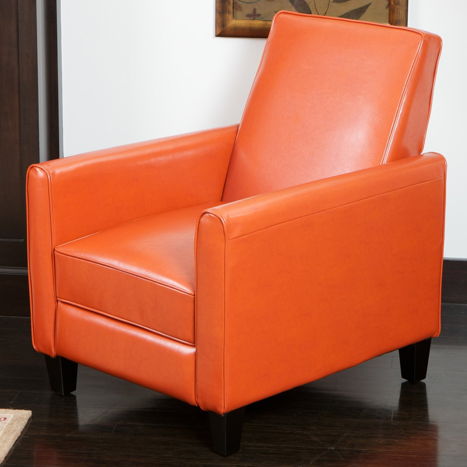 Beau Best Selling Davis Leather Recliner Club Chair