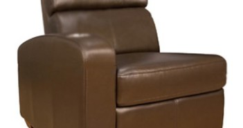 Bello HTS101BN Left-Arm Reclining Chair (Brown)1