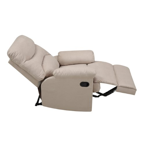... ProLounger Wall Hugger Microfiber Recliner Khaki3 ...  sc 1 st  Best Recliners & Choosing A Wall Hugger Recliner: The ProLounger Microfiber Review ... islam-shia.org