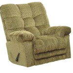 CATNAPPER 546892222015 Magnum Chaise Rocker Recliner, Big Man, Sage-2