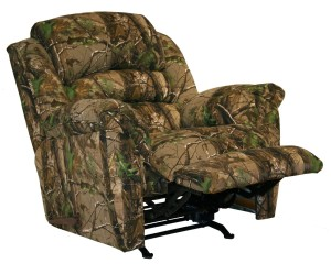Catnapper High Roller Big Man's Rocker Recliner AP Green-1