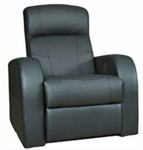 Coaster Home Furnishings 600001 Transitional Recliner, Black-3