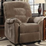 Coaster Home Furnishings Casual Power Lift Recliner, Brown-2