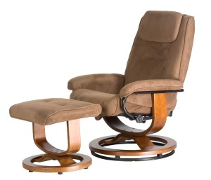 Comfort Products 60-078011 Deluxe Leisure Recliner Chair with 8-Motor Massage & Heat, Brown-2