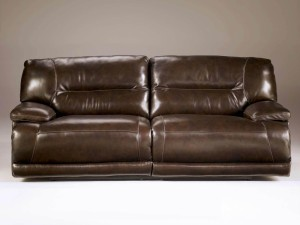 Exhilaration - Chocolate 2-Seat Reclining Sofa w-Power-2
