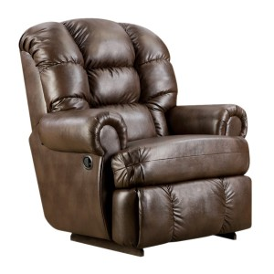 Flash Furniture AM-9930-8550-GG Big and Tall Capacity Leather Recliner, 350-Pound, Loggins Espresso-3