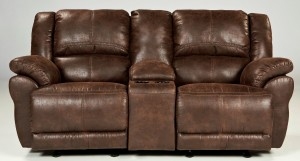 Garthay Glider Reclining Loveseat with Console Standard-3