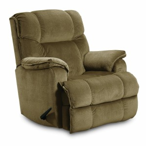 Lane ComfortKing Grant Rocker Recliner for Big and Tall, Tan-1
