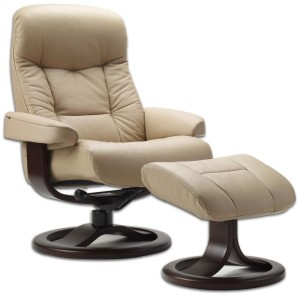 Leather Norwegian Ergonomic Scandinavian Lounge -3