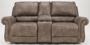 Oberson Double Reclining Loveseat with Console Power-2