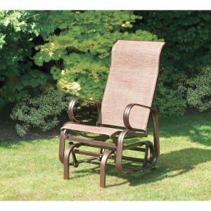 Suntime Havana Single Seat Glider Chair in Bronze-2