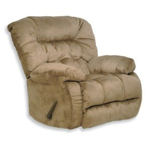 Teddy Bear Chaise Swivel Glider Recliner Fabric Graphite-3