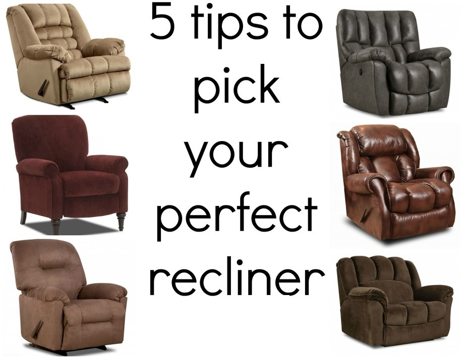 tips on choosing recliner