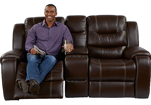 the best reclining loveseat sofas with consoles in leather and microfiber