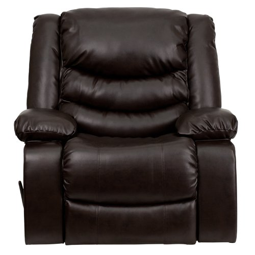 Flash Furniture DSC01078 Rocker Recliner Front