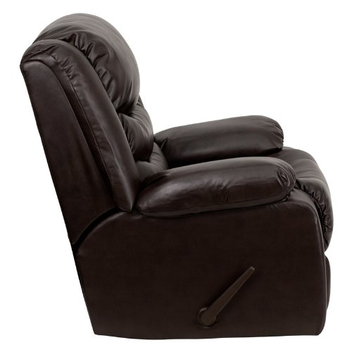 Flash Furniture DSC01078 Rocker Recliner Side