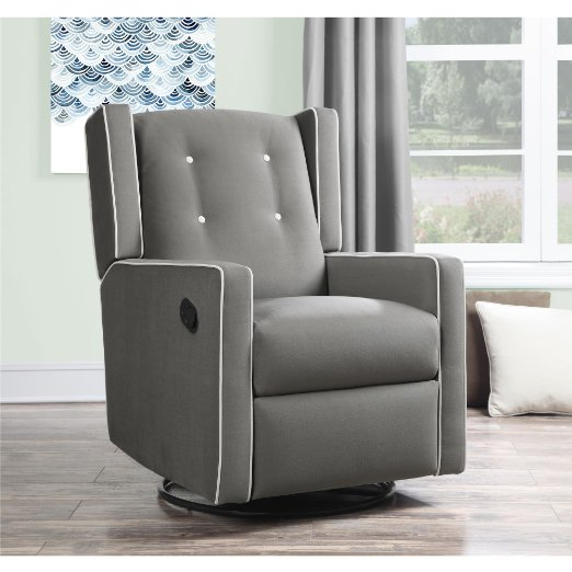 Baby Relax - Swivel Rocker Recliner : sleep recliner chair - islam-shia.org