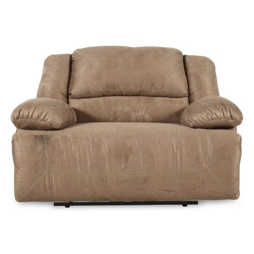Chair and a Half Recliner - Hogan Mocha Zero Wall Recliner with Wide Seat Box