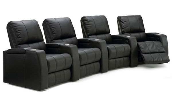 Octane Storm XL850 Leather Home Theater Recliners